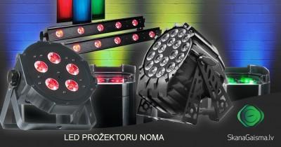 LED prožektoru noma