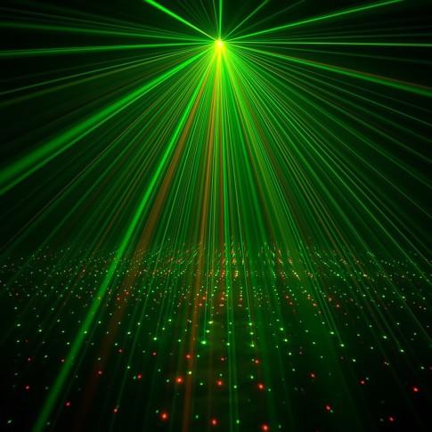 Lāzera efekts Micro Galaxian II