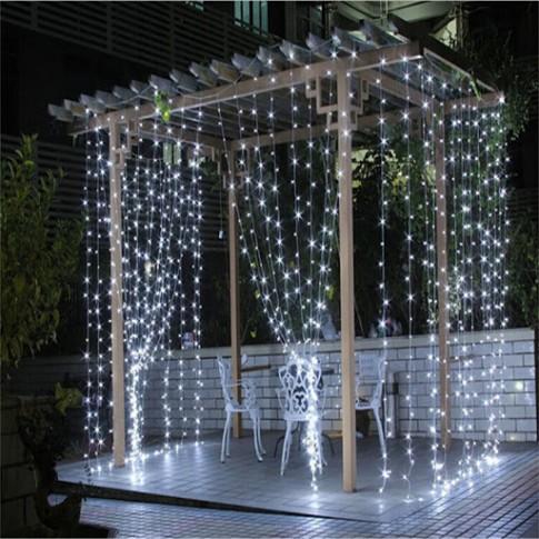 Dekoratīvs LED gaismu aizskars 3x3m | noma