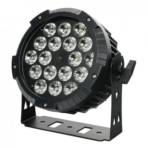 Jaudīgs prožektors LED PAR 18x10W | noma