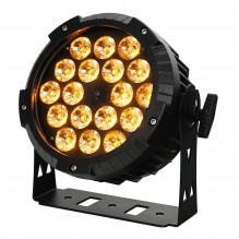 Jaudīgs prožektors LED PAR 18x10W<br /><span style=text-transform:none;><small></small></span>