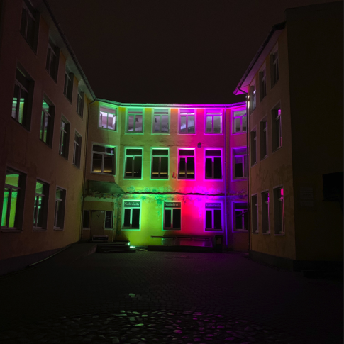 Ūdensdrošs LED bar ēku fasādēm | noma