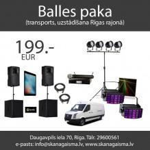 Balles paka <br /><span style=text-transform:none;><small> komplekts</small></span>