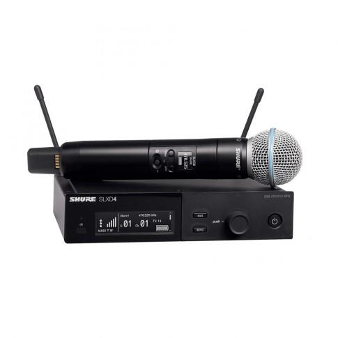 Bezvadu mikrofons Shure BLX24R/B58   noma
