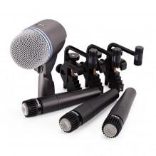 Bungu apskaņošanas mikrofoni Shure <br /><span style=text-transform:none;><small> komplekts</small></span>
