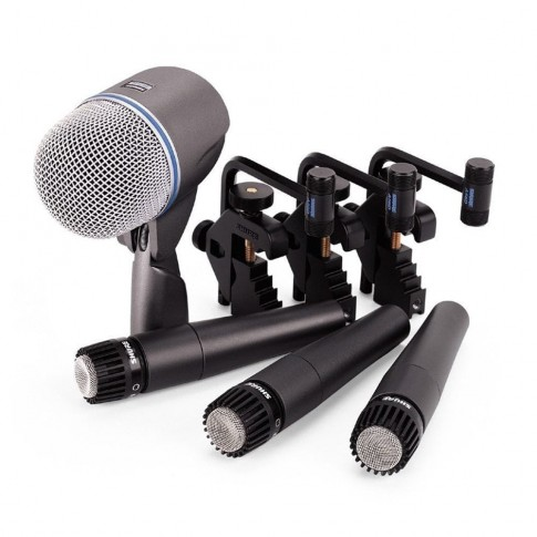 Bungu apskaņošanas mikrofoni Shure | komplekts | noma