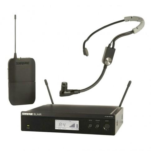 Bezvadu galvas mikrofons Shure SM35/BLX24R | noma