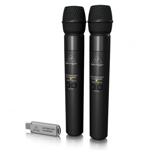 Bezvadu USB mikrofoni | 2 gab. | noma