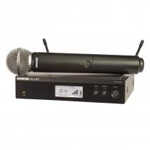 Bezvadu mikrofons Shure BLX24R/B58<br /><span style=text-transform:none;><small></small></span>