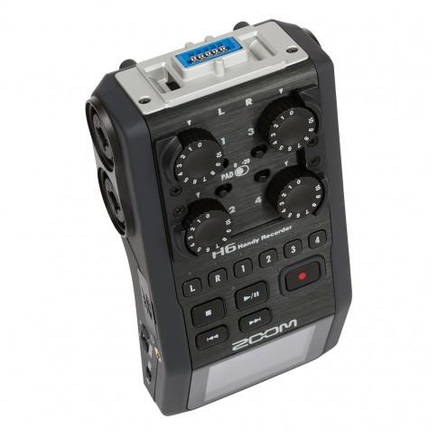 Audio ierakstītājs ar diviem mikrofoniem Zoom H6 | komplekts | noma