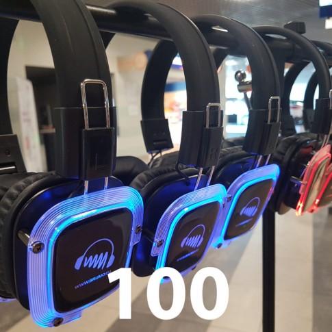Silent Disco 100/1 | komplekts | noma