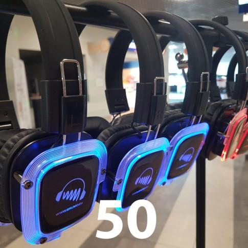 Silent Disco 50/1 | komplekts | noma