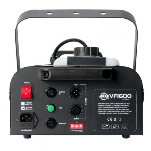 Jaudīga dūmu mašīna ADJ VF-1600