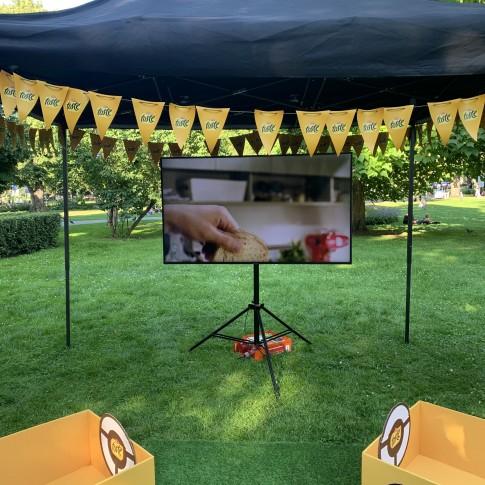 Samsung 65″ 4K Ultra HD Smart TV ekrāns | noma