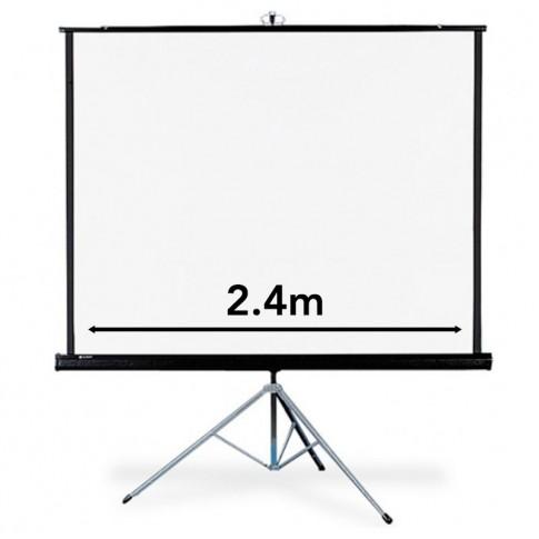 Video projektora ekrāns | 2.4x1.80 m | noma