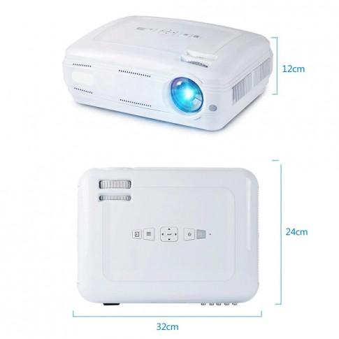 AUN Akey2 Led projektors | aptumšotām telpām